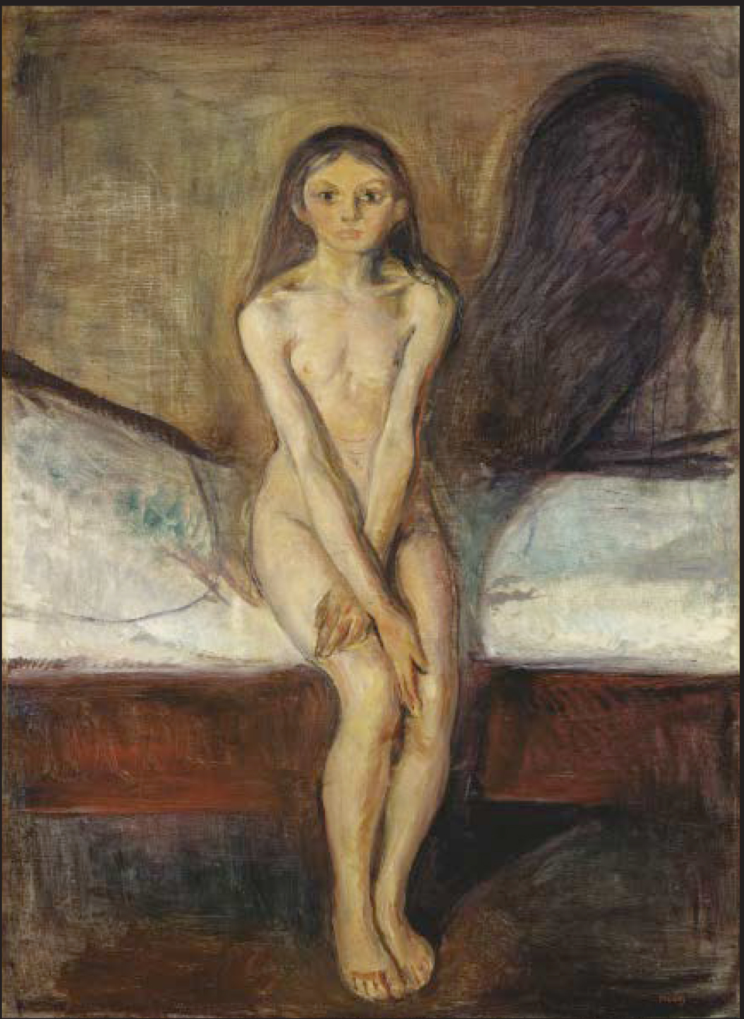 Edvard Munch: Pubertet (1894-95)