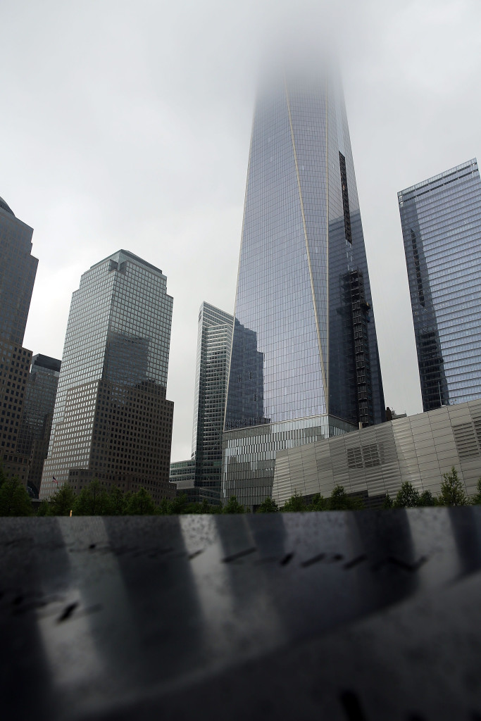 NEW YORK: The Freedom Tower Spencer/Platt/Getty Images/AFP