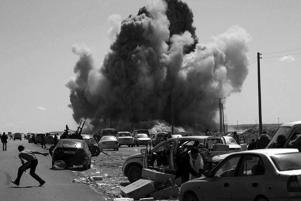 Libya 2011. FOTO:AFP PHOTO/MARCO LONGARI