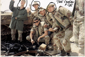 The chosen five