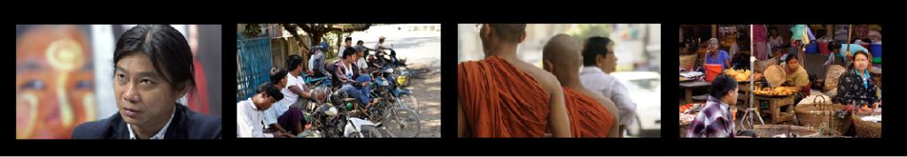 Aung Zaw til venstre. © Alle foto fra Myanmar: Truls Lie