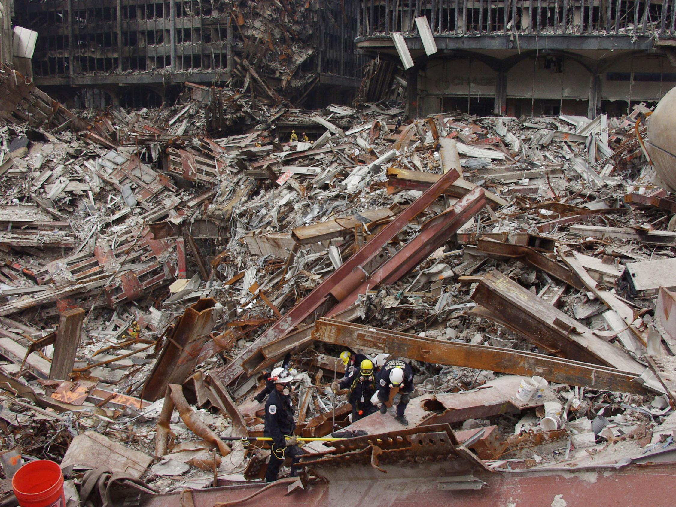 9/11 – ødeleggelsen Av WTC-tårnene
