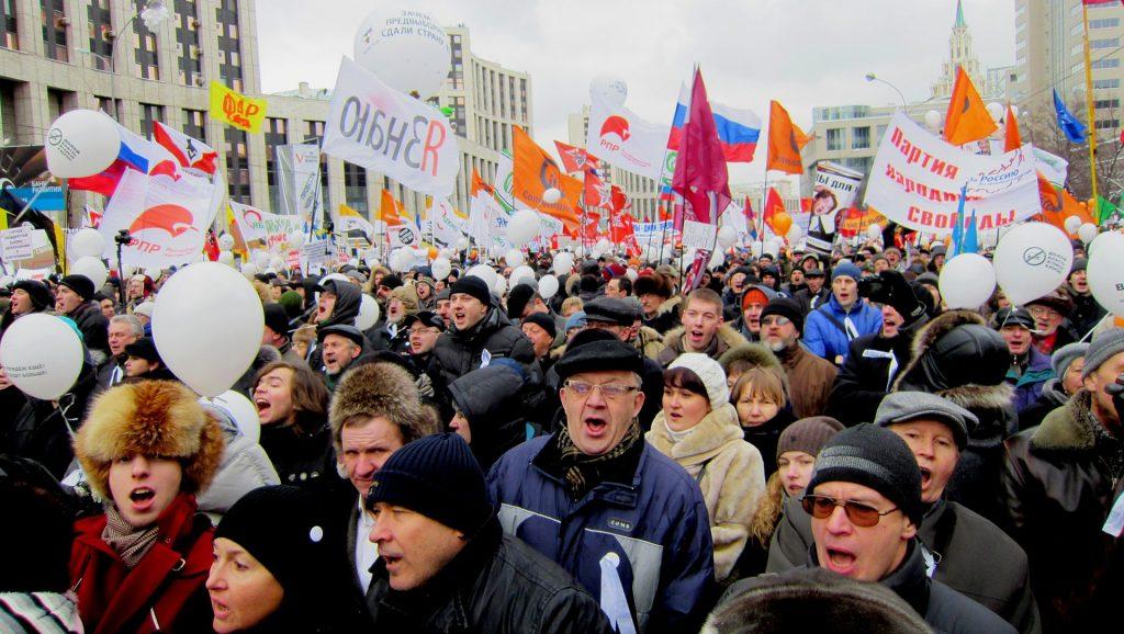 Protester i Moskva 24. desember 2011
