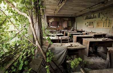 Pripyat, 2005. La escuela.
