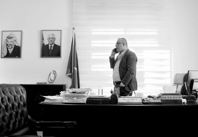 Ministro de Cultura Atef Abu Saif.