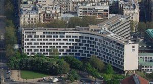 UNESCO-byggnad i Paris