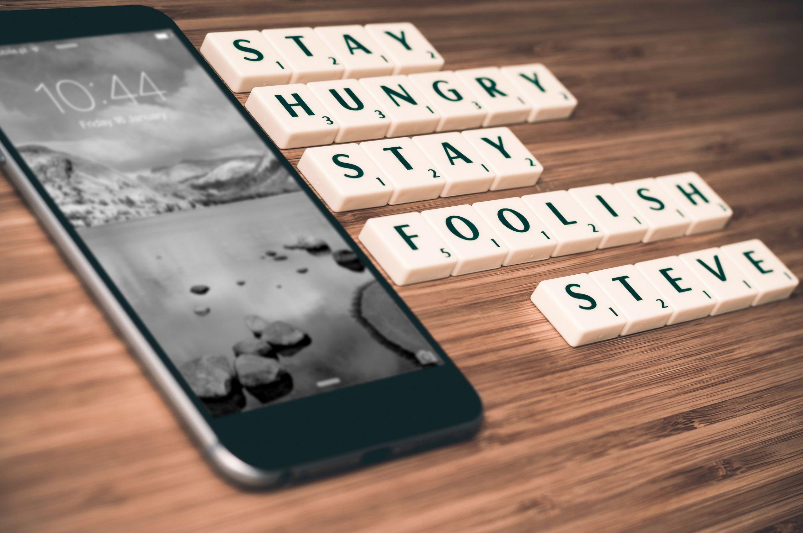 Steve Jobs Motto. Foto: Pixabay
